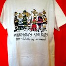 Vintage 1995 Minnesota's MN Rink Rats State Hockey Tournament T-Shirt Size XL Minnesota