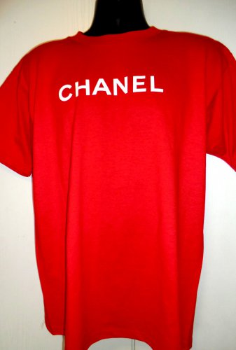 Rare Promotional Perfume Red T-Shirt Size Large