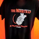 MOUSETRAP Size MEDIUM T-Shirt St Martin's Theatre London Agatha Christie