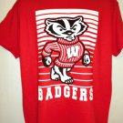 Wisconsin Badger T-Shirt Size Large