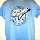 Vintage NASA T-Shirt America Needs Space to Grow Size Large