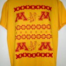 Golden Gophers Basketball Ugly Holiday T-Shirt Size Large University of Minnesota MN
