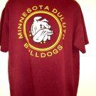Minnesota DULUTH Bulldogs T-Shirt Size XL