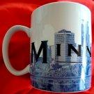 STARBUCKS Coffee Mug Minneapolis City of Lakes Minnesota 2002 SKYLINE SERIES
