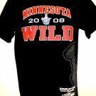 Minnesota Wild Hockey T-Shirt Size Small 2008 Stanley Cup