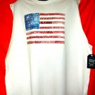 American Flag Tank Top Size XXXL (3XL) Stars Strips States Names NEW NWT