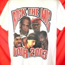 Rock The Mic Tour 2003 T-Shirt Size Large Jay Z 50 Cents Snoop Dog