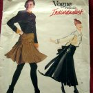 HOLD! Rare Vogue Pattern # 2175 UNCUT Misses Jacket Skirt Shirt Size 6 8 10