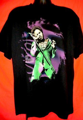 Vintage 1999 Lenny Kravitz Live 99 Tour T-Shirt Size XL