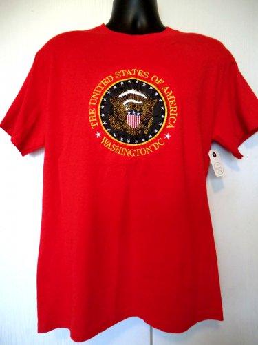 Washington DC T-Shirt Size Medium Red NEW NWT United States of America
