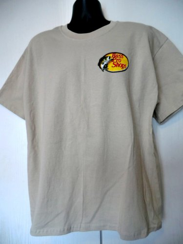hold bass pro shops fishing t shirt size xl