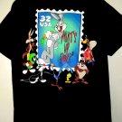 Vintage 1997 Bugs Bunny USPS Stamp T-Shirt Size Large