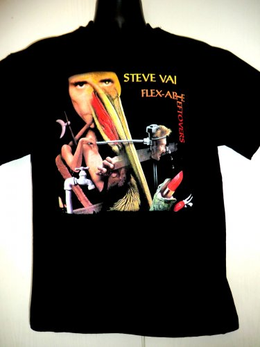 Steve Vai Flex Able Leftovers T-Shirt Size Medium