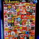 SEALED Cheers Beer Labels Puzzle 1000 Piece White Mountain Jigsaw  Puzzle NEW!