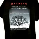 Shakespeare MACBETH Play T-Shirt Size XXL Seth Bockley Brown University Vintage 2000