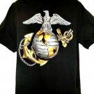 USMC Marines Anchor Globe Eagle Vintage 1995 T-Shirt Size XL United States Marine Corps