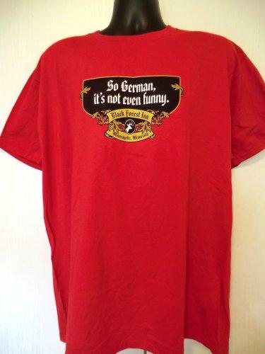 Minneapolis MN German Restaurant T-Shirt Size XL So German, It�s Not Even Funny