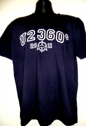 U2 360 Tour 2011 T-Shirt Size XL No Line On The Horizon Bono The Edge