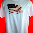 American Flag T-Shirt Size Large