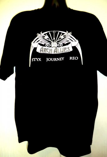 Arch Allies STYX JOURNEY REO 80's Rock Size XL T-Shirt