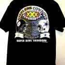 Super Bowl XXX Vintage 1996 T-Shirt Size Large  STEELERS  COWBOYS