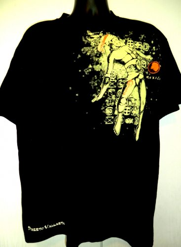 Staycation T-Shirt PUERTO VALLARTA MEXICO T-Shirt Size XL