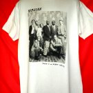 Vintage TV Police Show Homicide Life On The Street Cast T-Shirt Size Large