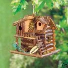 Gone Fishin' Birdhouse - delightful fishing cabin!