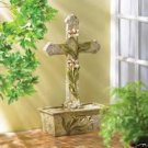 SPECIAL PRICE/SPECIAL SHIPPING!!  Cross & Lily Fountain - Indoor/Outdoor