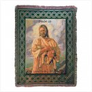 Lord is My Shepherd Tapestry Throw - spiritual comfort!