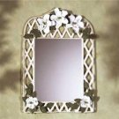 Magnolia Lattice Mirror - pretty mirror - SHIPS FREE!!