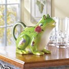 Floral Frog Pitcher - a great addition to your party decor!