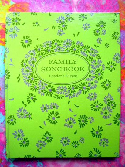SOLD!  Reader's Digest FAMILY SONGBOOK Songs 1969 124 Songs!