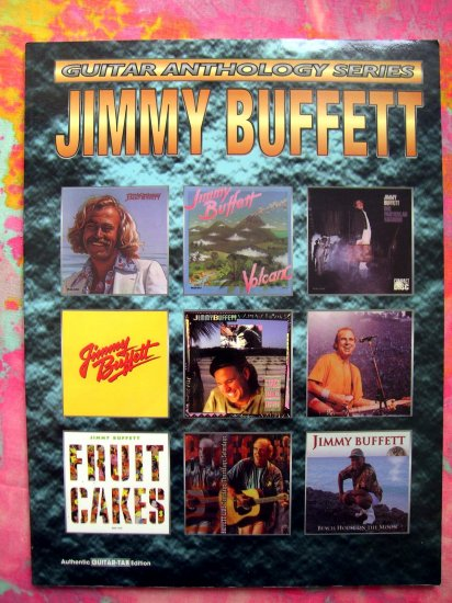 SOLD! JIMMY BUFFET Guitar Anthology Tab Songbook 24 Songs: Margaritaville