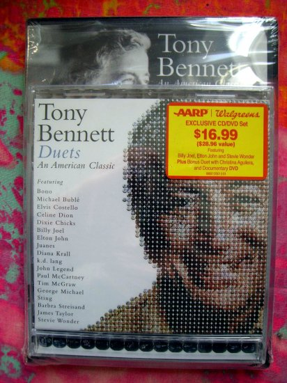 NEW TONY BENNETT AN AMERICAN CLASSIC BOTH the CD & DVD SEALED! EXCLUSIVE PICS Hard to find!