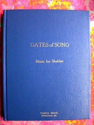 ON SALE!  GATES OF SONG Shabbat Music JEWISH MUSIC BOOK HEBREW