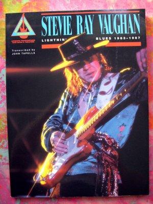 Hal Leonard ~ Stevie Ray Vaughan Song Book 25 Songs ~ Lightnin' Blues 1983-1987