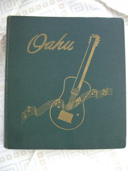 OAHU Hawaiian / Spanish Guitar Songs Song Book SONGBOOK Vintage