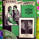 Frankie and Johnny  ~ Sheet Music Vintage 1935 ~ Ukulele ~ Guitar Cords