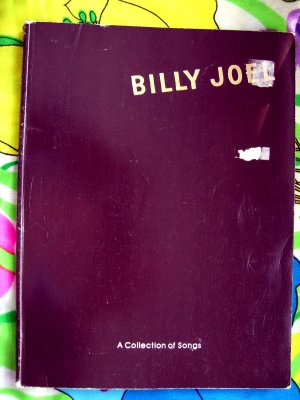 "Billy Joel  ""A Collection of Songs"" Songbook 1970's  25 Songs"