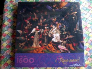 NEW Sealed Springbok Puzzle A Renaissance Christmas 1500 Pieces