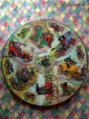 RARE SEALED VINTAGE 1965 Springbok Puzzle VETERAN CAR