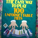 Reader's Digest ~ Easy Way to Play 100 Unforgettable Hits Songbook 100 Songs!