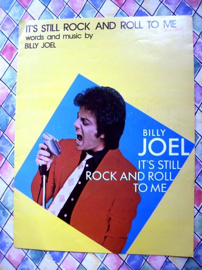 It's Still Rock and Roll To Me Billy Joel Sheet Music 1980