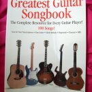 The Greatest Guitar Songbook [Book] by Hal Leonard 100 Songs