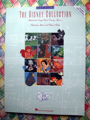 Disney Collection Songbook Songs from Disney's Movies TV Easy Piano Song Book