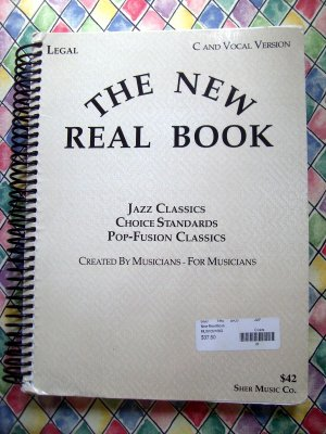 The New Real Book Volume 1 Fake Songbook Jazz