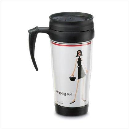 Shopping Girl Commuter Mug