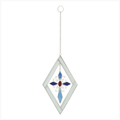 Coloful Cross Suncatcher