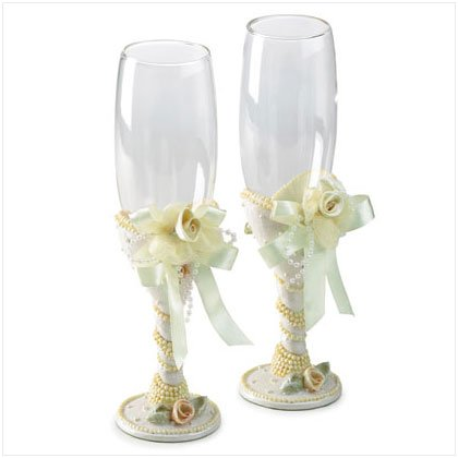 Ceremonial Beaded Wedding Goblets